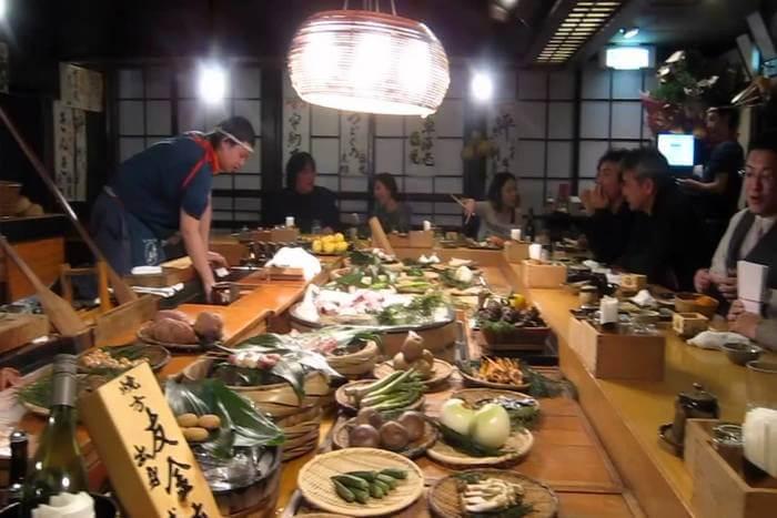 Inakaya Restaurant in japan