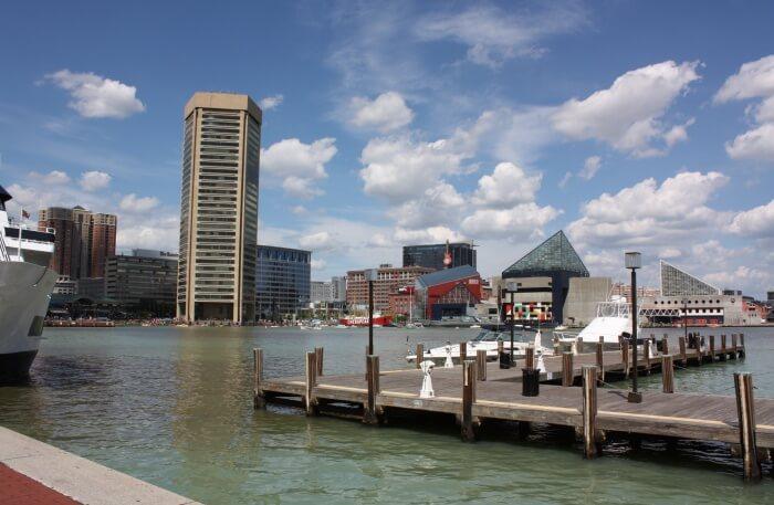 Inner Harbor Of Baltimore