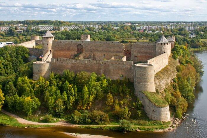 Ivangorod Fortress, Leningrad