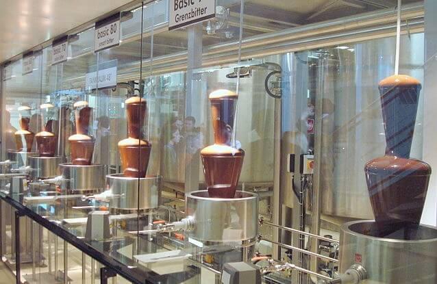 Josef Manner's Chocolate Factory