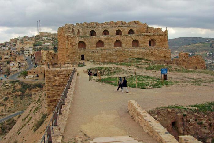 Kerak Castle in Israel