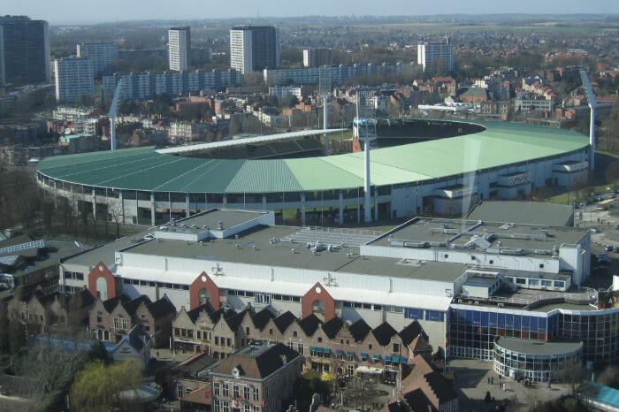 King Baudouin Stadium in Belgium