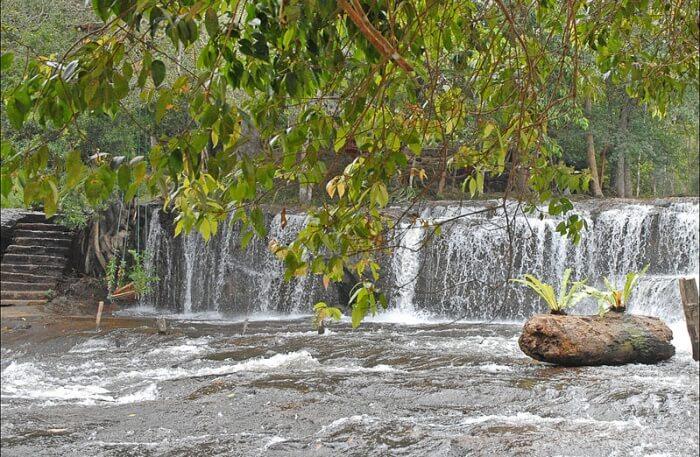 Kulen Mountain Waterfall View