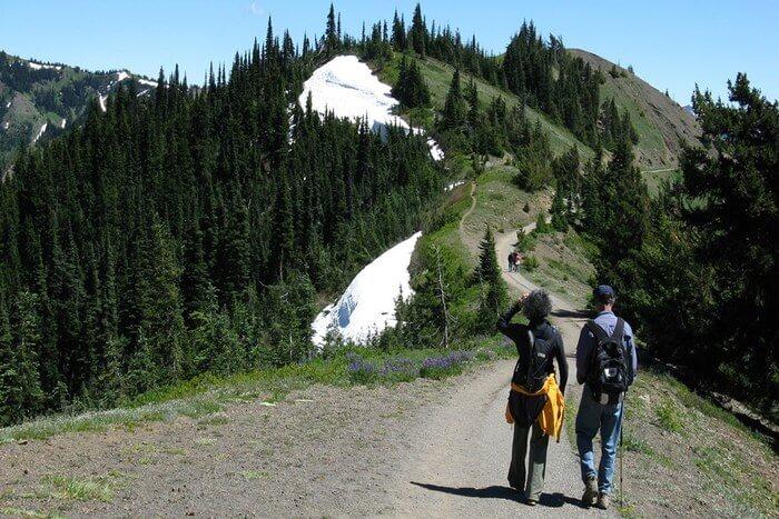 Hiking spot