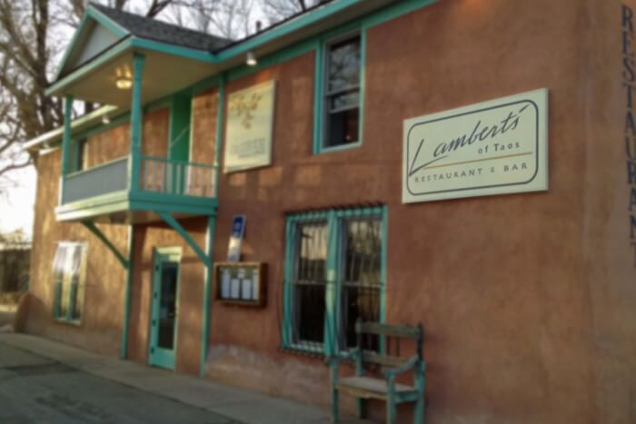 Lambert's of Taos- The iconic dining place