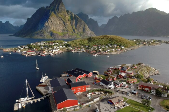 Major Cities In Lofoten Islands