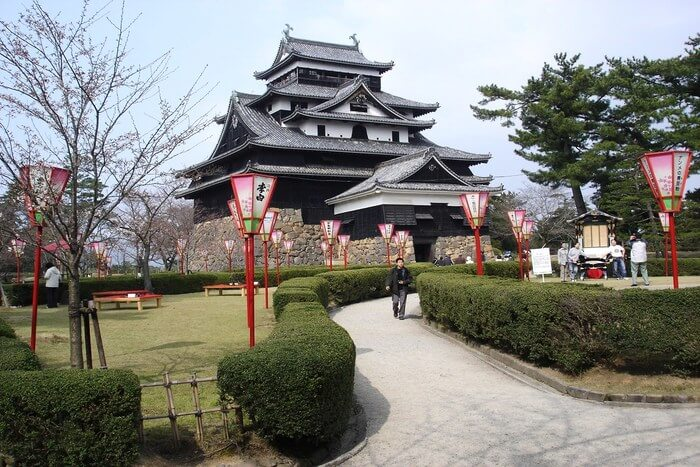 Beautiful Matsue Castle