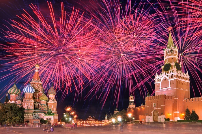 Moscow Marks City Day