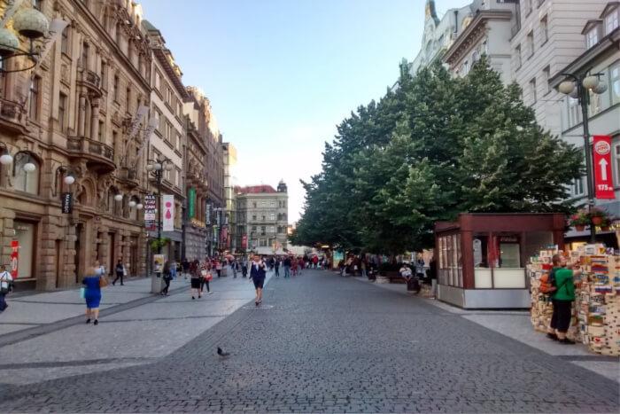 Na Prikope Street