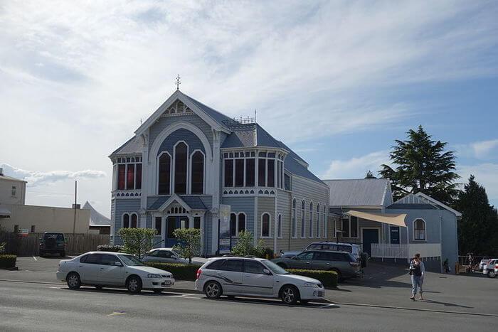 Church outside view