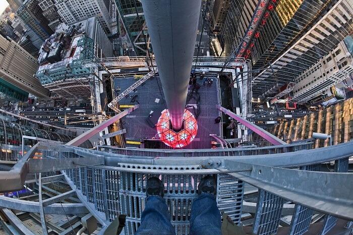 New York City ball drop