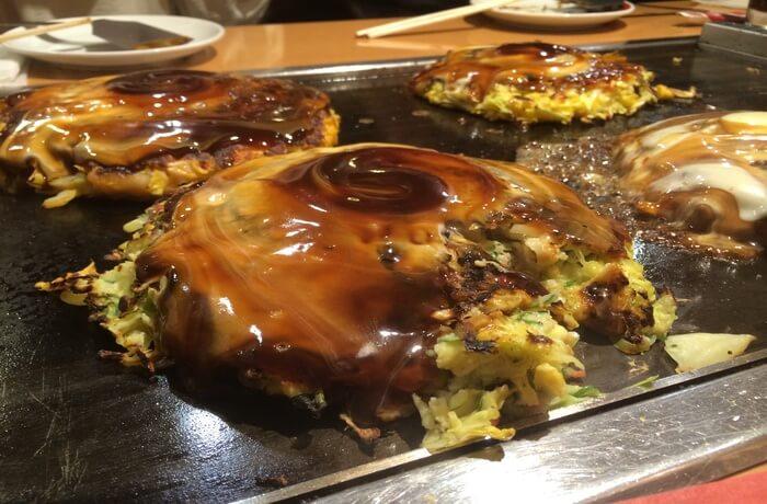 a popular savory pancake dish