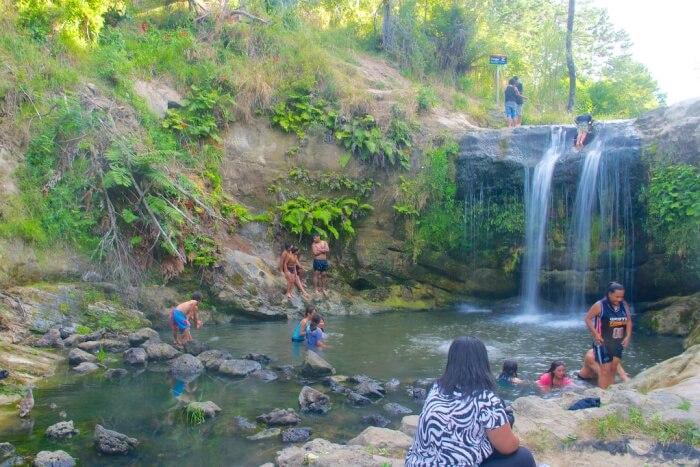 Oakley Creek Falls