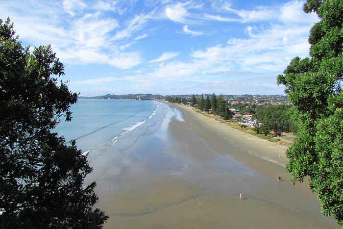 Orewa Beach in Auckland