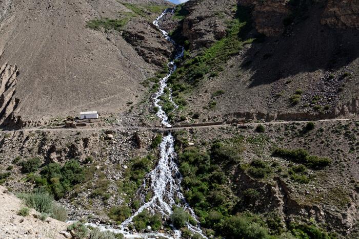 Pamir valley of Langar