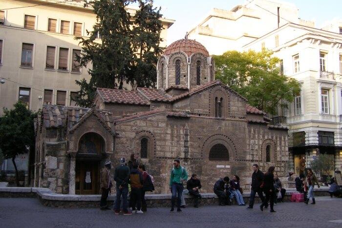 Panaghia-Kapnikaria-Church