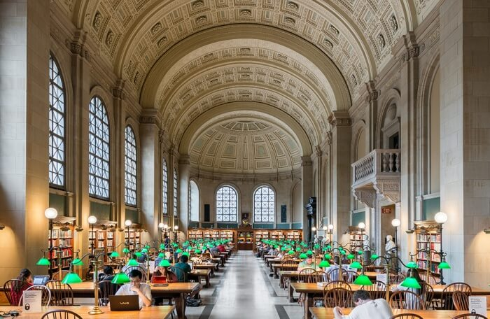 Pay A Visit To The Boston Public Library