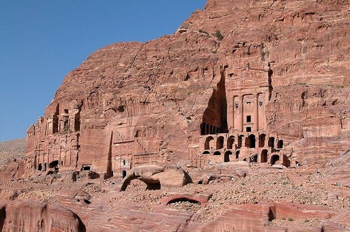 Petra castle
