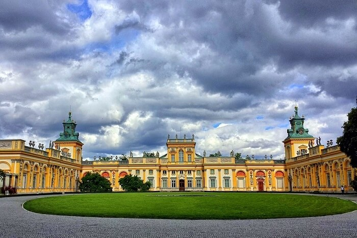 Major attractions of warsaw