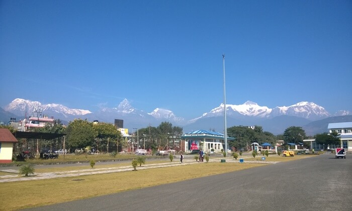 only international airport in Nepal