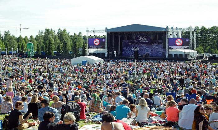 pioneer of Finland music festivals