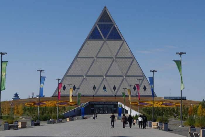 Pyramid of peace