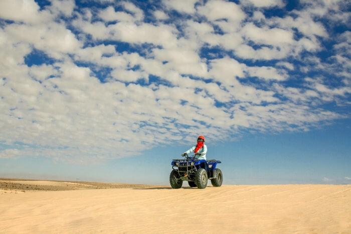 Quad Bike Pyramids Desert Safari