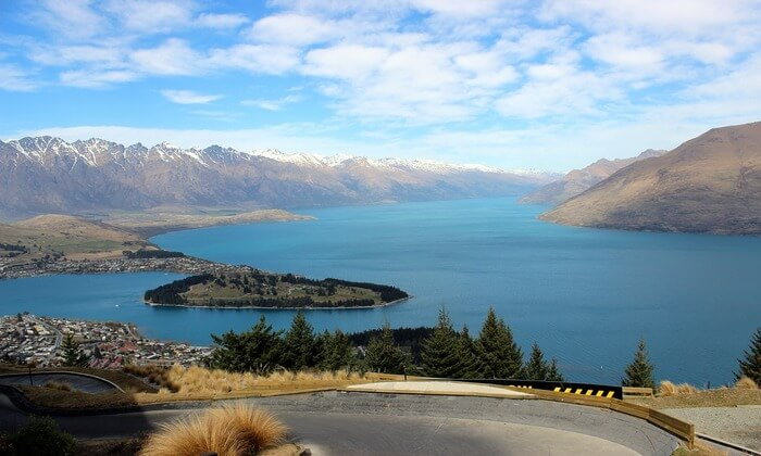 View South Island Queenstown