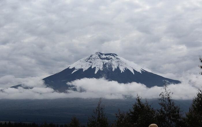Mountain and fogg