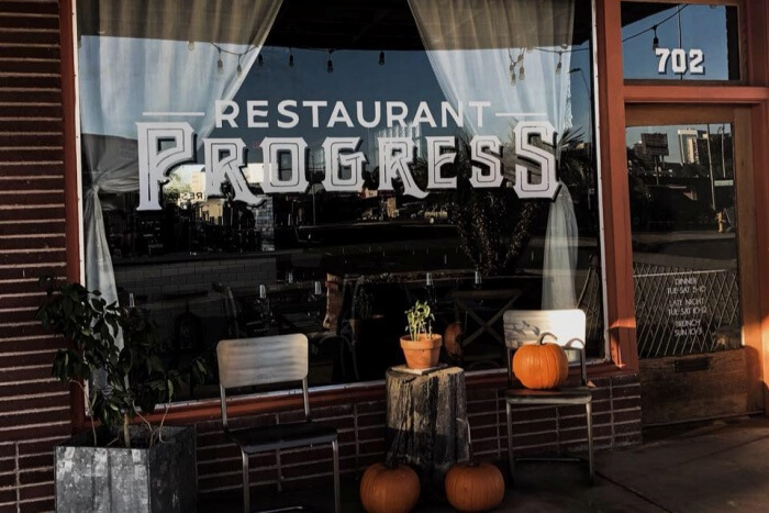 Restaurant Progress
