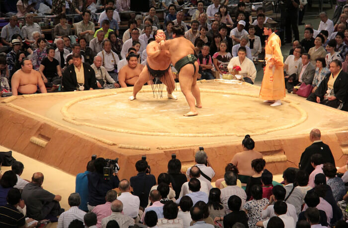 history and culture of sumo wrestling