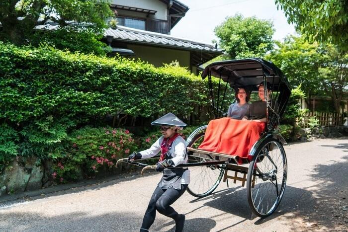 People Japan Bamboo Forest Rickshaw Arashiyama