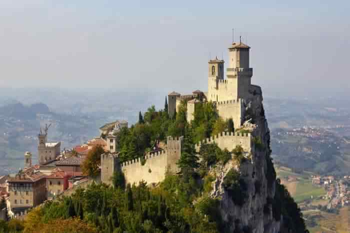 Oldest place San Marino