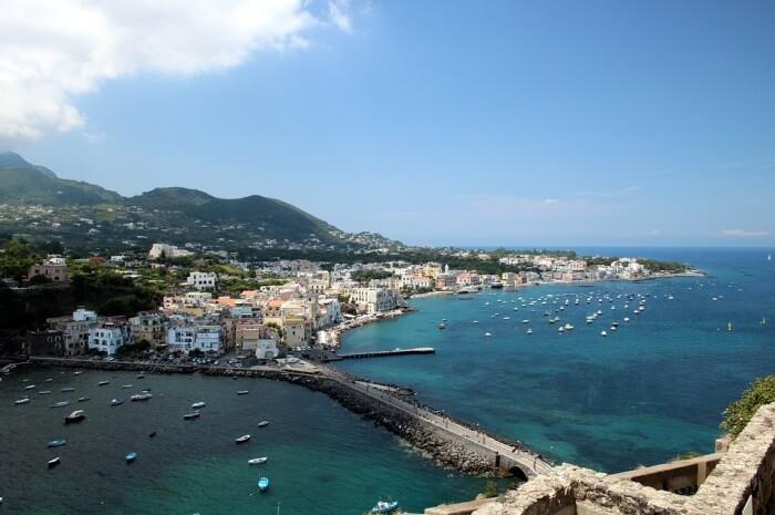 Mediterranean Sea Ischia Island Sea Italy