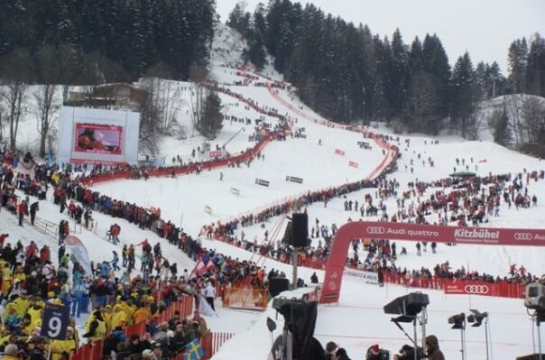 Ski resort Kitzbuehel