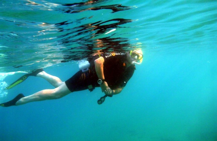 Snorkeling on the Turtle Bay