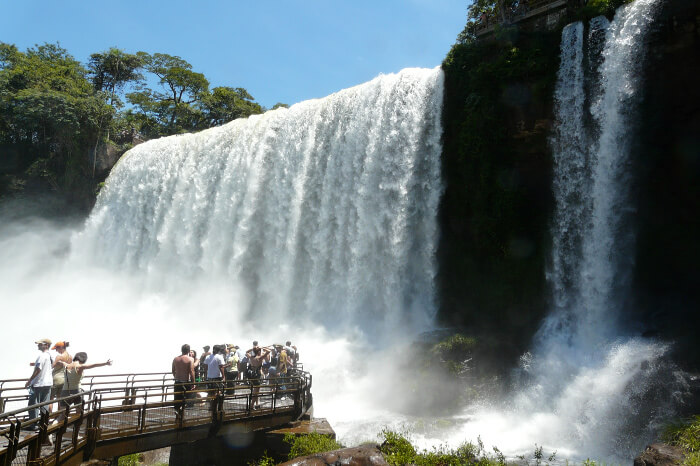 Soak in sights at the Iguazu Falls