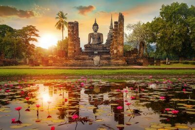 Major attractions of Sukhothai Historical Park