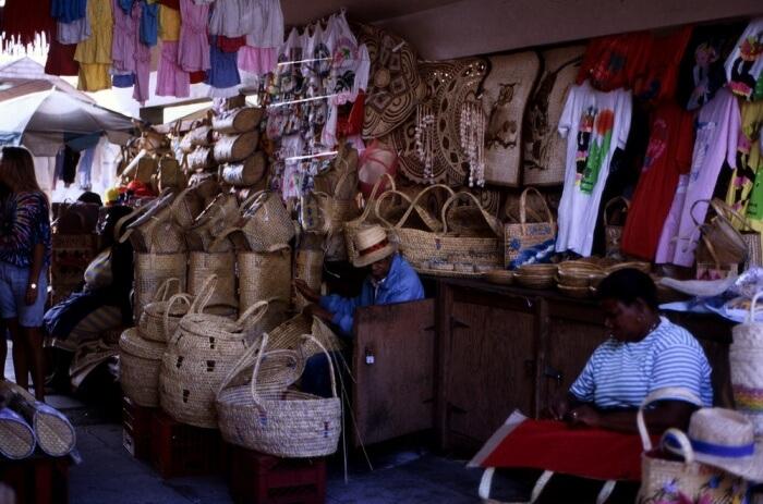 Take A Stroll Through The Straw Market