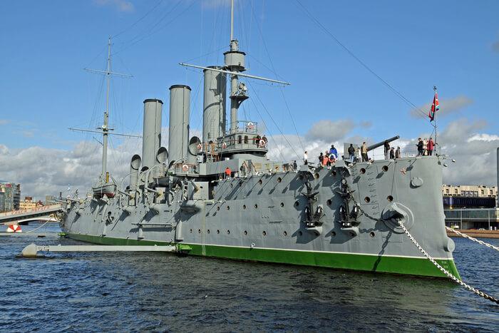 Russian Fighting ship view