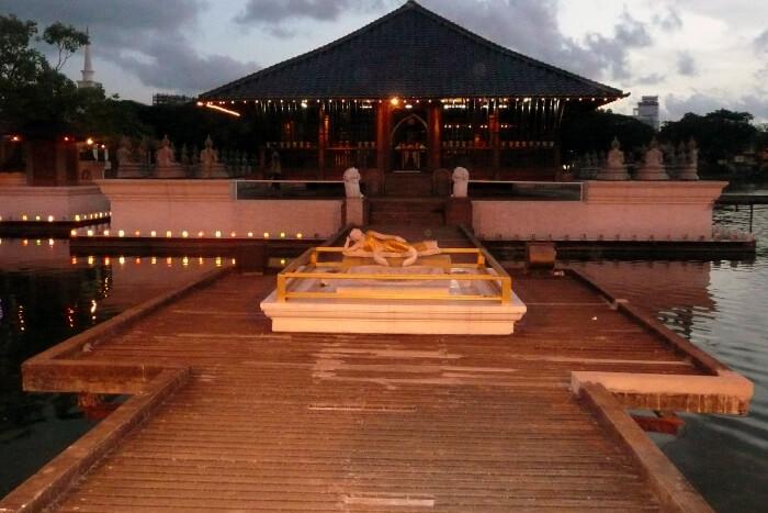 The Seema Malaka and Gangaramaya Temples