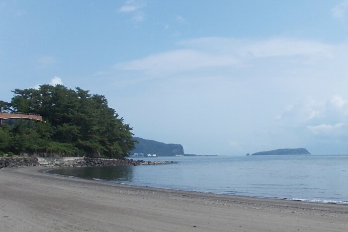 The beach in Ibusuki