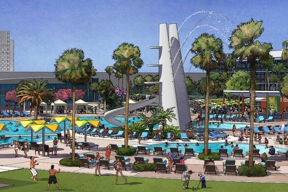 Universal's' Cabana Bay Beach Resort