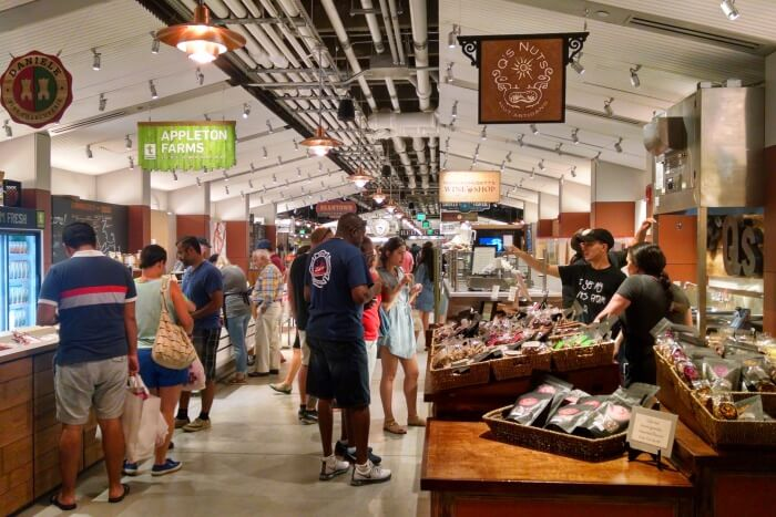 Visit Boston Local market