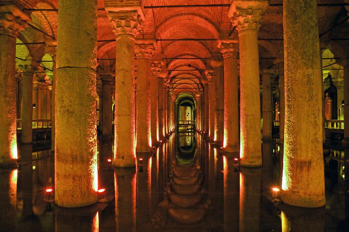 Visit the Basilica Cistern