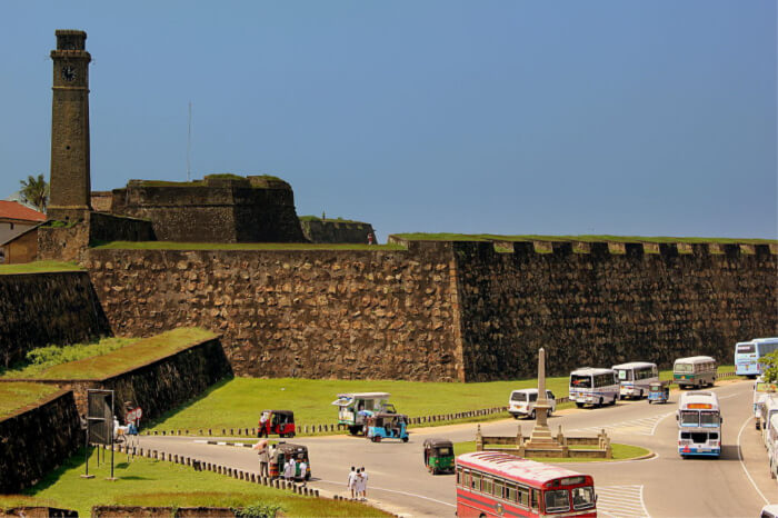 Visit the iconic Galle Fort