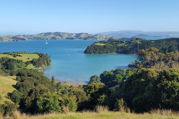 New Zealand Nature And Landscape Sea