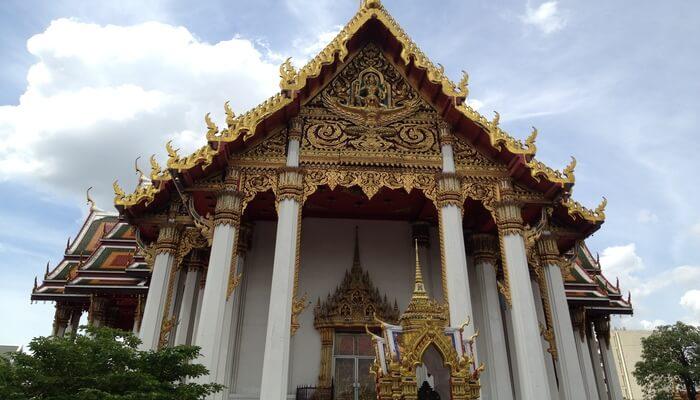 Beautiful temple in Phitsanulok