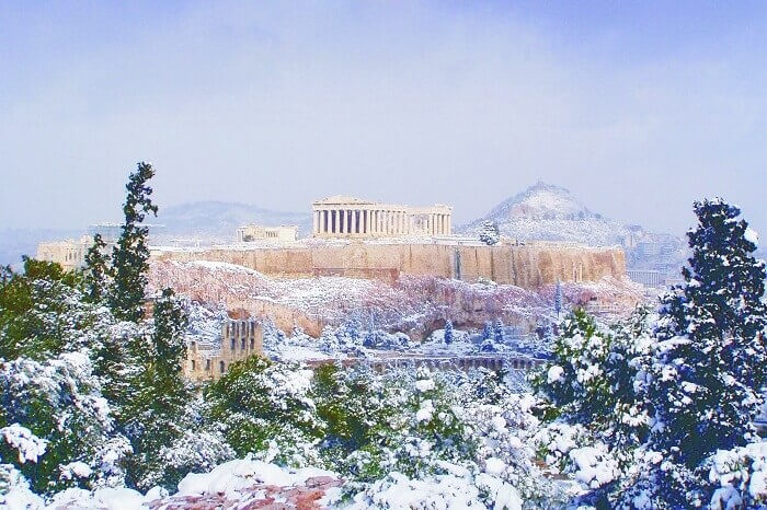 Weather in Greece During Christmas