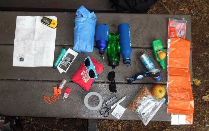 Essential things for camping